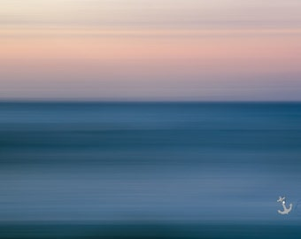 Indigo ~ East Beach, Charlestown, Rhode Island, Beach, Photography, Sunset, Waves, Coastal, Decor, Wall Art, Nautical, Seascape, Art, Joules
