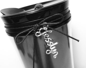 Starbucks Bottle Personalised Wire Name - Custom Name/Word