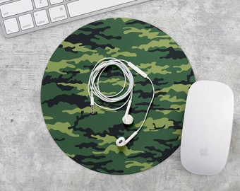 MousePad Military Mouse Pad Army Mouse Mat Green Сamouflage MousePad Coworker Gift Rubber MouseMat Rectangular Mouse Mat Khaki MousePad Mice