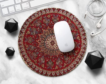Mouse Pad Mousepad Red Mouse Mat Persian Carpet MousePad Office Gift Mousemat Rectangular Mousemat Persian Rug Mousepad Desk Accessories