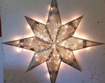 24 Inch Lighted Nautical Star