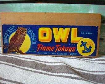 Owl advertising