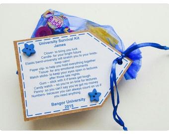 Personalised University / College Survival Kit