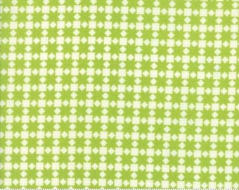 Handmade Collection Green Check from Moda by the yard