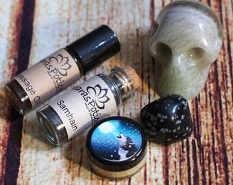 Wicca Samhain Spirit Message Kit, Communication with Ancestors & Guides, Spirit Communication for Witchcraft, Psychic Divination, Meditation