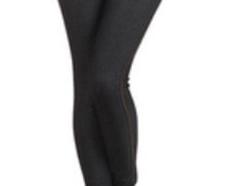 Fitted Black Stretch Leggings