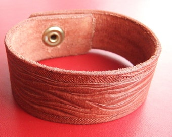 Veg Tanned Leather Wristband