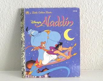 A Little Golden Book Disney's Aladdin