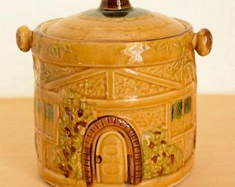 Cottage Cookie Jar