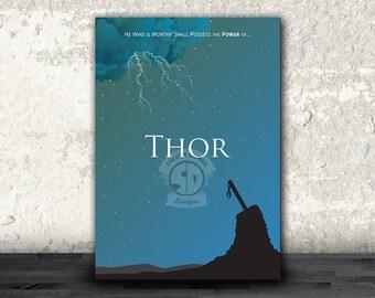 Thor: Marvel Minimalist Poster