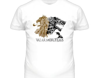Valar Morghulis All Men Must Die Game Of Thrones Television T Shirt