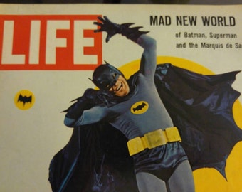 Life BATMAN Magazine 1966