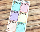 TOP 3 Planner Stickers - INDIAN SUMMER perfect fit for Inkwell, Erin Condren, Happy Planner & more! {#IWP0928}