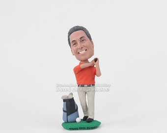 Personalized golf gifts-dad gift-brother gift-golf bobblehead for him-christmas gift-birthday gift-golf gifts for men-gifts for golfers