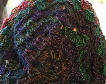 Colorful slouchy hat