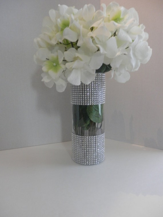 Wedding centerpiece glass candle holder table by eebdesigns