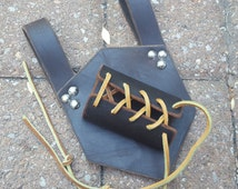 Leather Weapon Sword Frog Right Handed Holster Medieval Renaissance