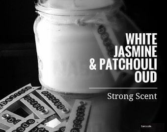 White Jasmine & Patchouli Oud Wood