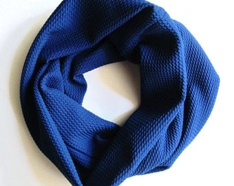 Cowl Neck || Royal Blue Scarf || Infinity Scarf || Baby Scarf || Toddler Scarf || Girls Scarf