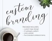 Business Branding Package | Custom Logo + Branding Items | Brand Identity | Custom Brand Package | One of a Kind Branding Package ♥