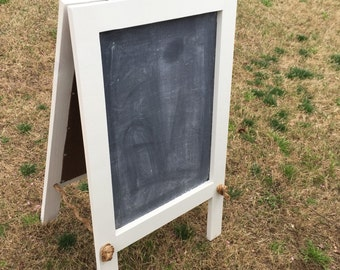 Dry Erase and Chalkboard Easel Two Sided