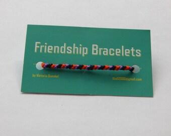 Diagonal Friendship Bracelets (D9,D10,D11,D12)
