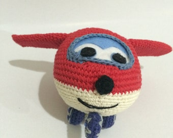 Super Wings Jet Amigurumi PDF PATTERN
