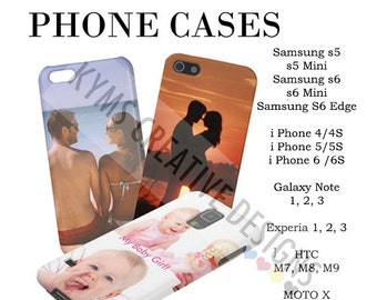 Personalized Phone case, Own Photo Phone case, Iphone 6/6s