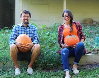 Pumpkin Maternity Shirt, Halloween Maternity Shirt, Funny maternity tee, Gender reveal shirt, Little Pumpkin