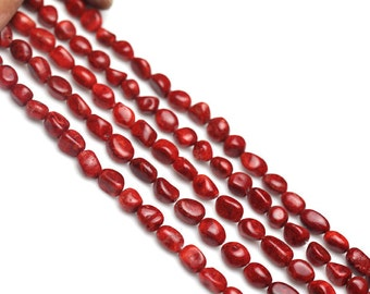 DIY Handmade Amorphous Coral Loose Beads Wholesale Length: 39cm string - WEN24719748331-MAD