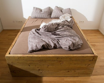 2 Big Drawers - Bed