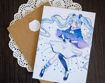 Winter Hatsune Miku Wall Art Board