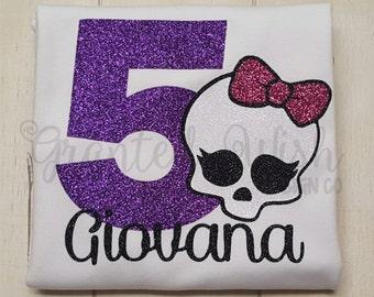Monster High Birthday Shirt