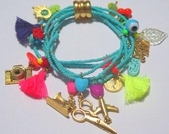 Life Turquoise Bracelet