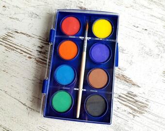 Mini water color paint set