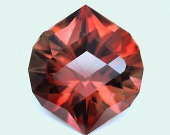 6.30 ct Gem Oregon Sunstone. Custom Cut. Natural, untreated loose gemstone. Precision cut.