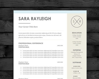 resume template cv template pc mac free cover letter us letter