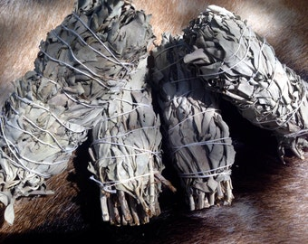 White Sage Smudge Stick. Free Shipping with any order!