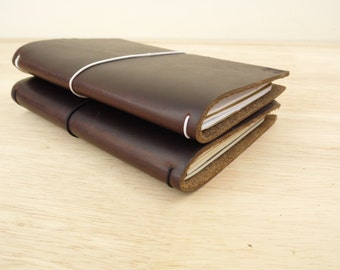 """Field Notes Leather Cover / PERSONALISED Field Notes Leather Cover / Leather cover for 3.5""""x5.5"""" notebooks / Field Notes Moleskine Cashiers"""
