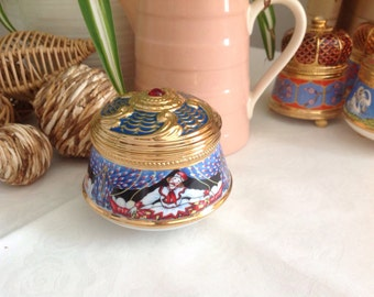 Franklin Mint House of Faberge .Imperial Music Box Collection. Russian Ballets. Petrouchka