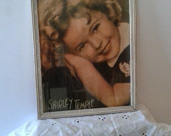 Original Vintage Shirley Temple Poster Photo