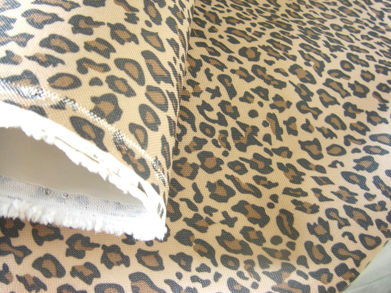 Waterproof fabric animal print fabric leopard print design for Designer animal print fabric