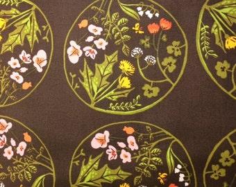 Windham Fabrics WINDJAMMER (TIGER LILY) -100% Cotton Premium Quilt Fabric - Per 1/2 yd