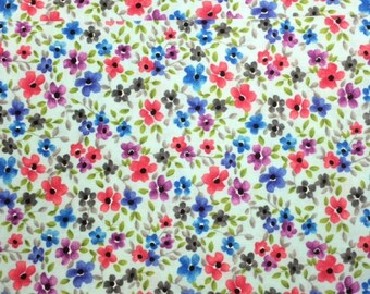 Michael Miller FORGET ME NOT (Cloud) 100% Premium Cotton Quilt Fabric - per 1/2 yd