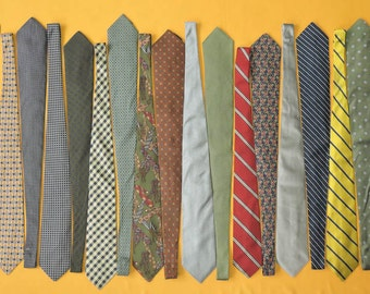Lot Of 20 Brooks Brothers Tie Pure Silk Various Colour & Pattern Vintage Designer Dress Necktie Made In USA (20/5)