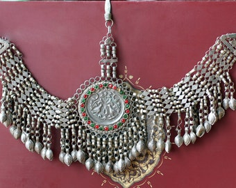 Vintage Afghan Tribal Kuchi Headpiece