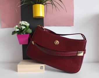 Handbag satchel, Paul, Satchel bag, Vintage french, 1990