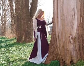 Historic dress in dream color
