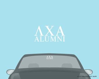 LXA Lambda Chi Alpha Fraternity Alumni Decal Sticker