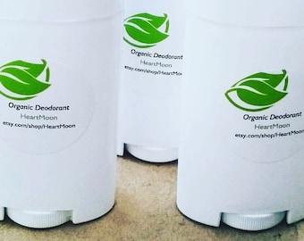 ORGANIC Handmade Deodorant Stick